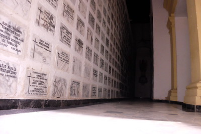 A revolving mausoleum.