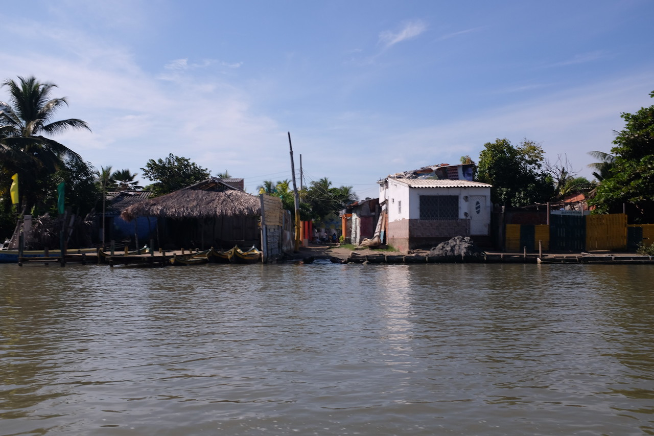 A fiercely proud fishing village inhabited by descendants of freed slaves, La Boquilla has been feeling the heat from condominium development, encroaching from the west.