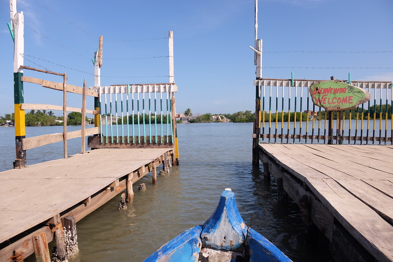 Were now in the village of Boquilla, about to embark on a dugout canoe excursion into the nearby mangrove swamps.