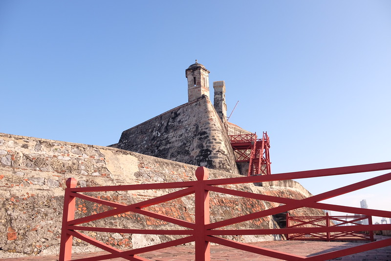 Approaches to Cartegena's Castillo de San Felipe de Barajas
