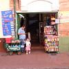 Along the street in Bogotá.