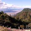 A view of the northeastern environs of Bogotá, from Monserrate.