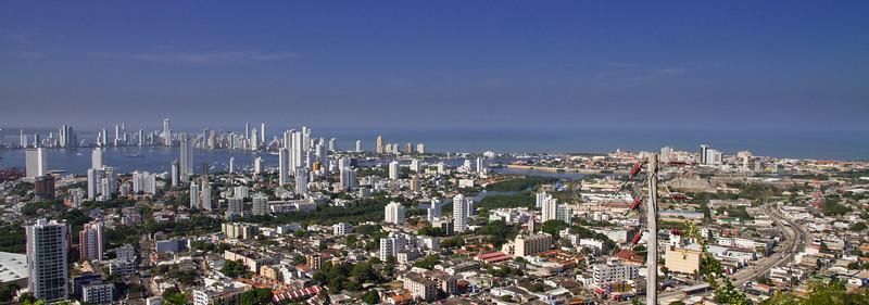 Cartagena From La Popa - January 2013