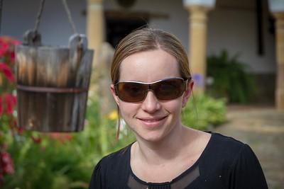 Emmy at La Popa - Cartagena