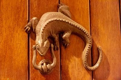 Door Knocker in the Old Town of Cartagena