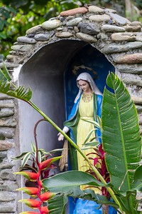 Shrine at the Coffee Museum - Armenia Region Colombia (December 2012)