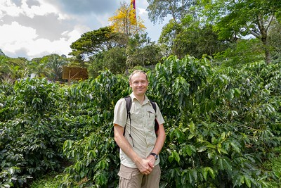 David at the Coffee Museum - Armenia Region Colombia (December 2012)
