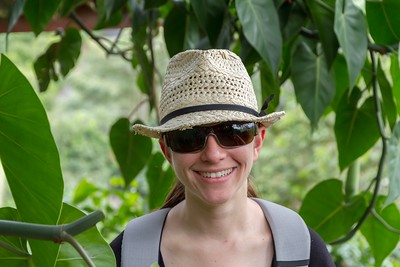 Margaret at the Coffee Museum - Armenia Region Colombia (December 2012)