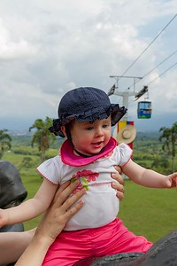 Scarlett at the Coffee Museum - Armenia Region Colombia (December 2012)