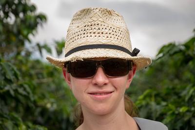 Margaret in the Coffee Fields