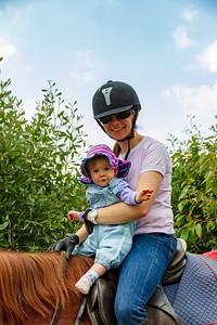 Scarlett ' Margaret Horse Riding at Magda's Farm