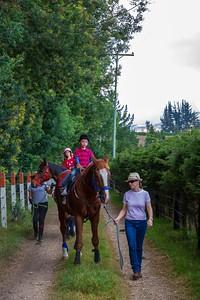 Annalise and Adrian Horse Riding at Magda's Farm