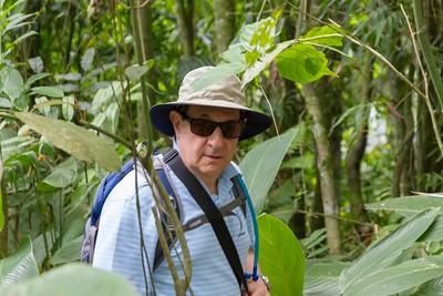 Gonzalo at the Mariposario- Coffee Region, Colombia