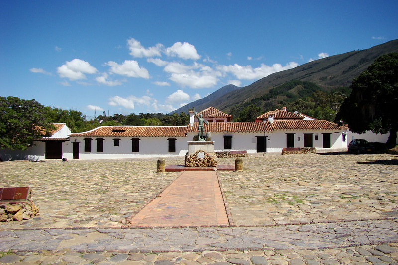 Taking a walk through Villa de Leyva.