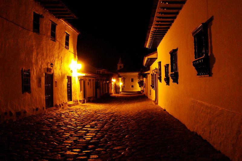 11-30-09 - My 1st night in Villa de Leyva.