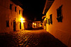 11-30-09 - My 1st night in Villa de Leyva.