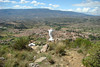 Overlooking the town of Villa de Leyva.