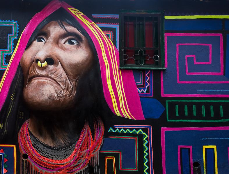 grafiti in Bogota / Colombia