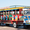 Colorful Cartagena tour bus