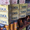Coca tea for sale at Monserrate