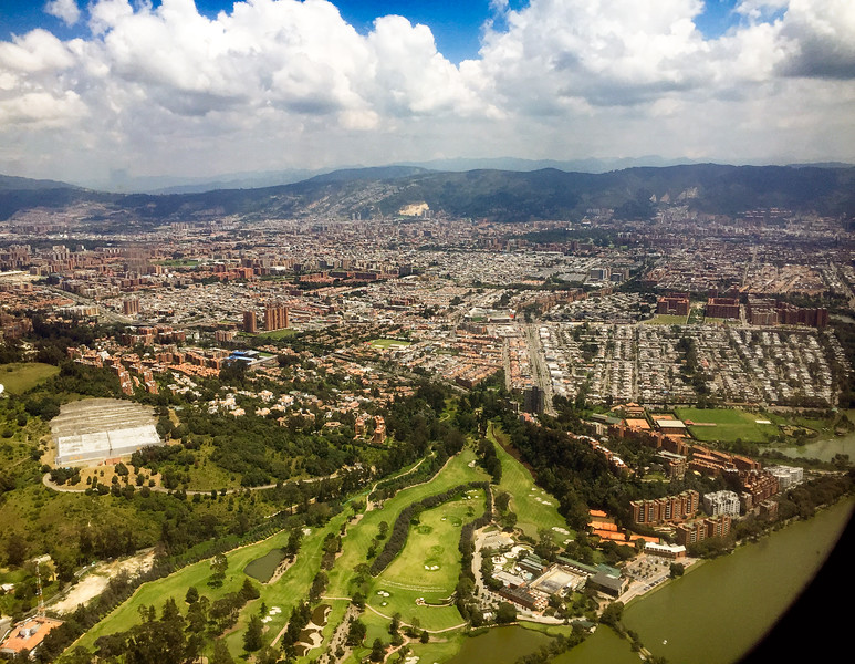 Return to Bogotá for connecting flight to Cali