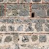 Masonry detail at Castillo San Felipe de Barajas