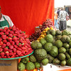 Of course, the market has great food. This country literally overflows with fruit!