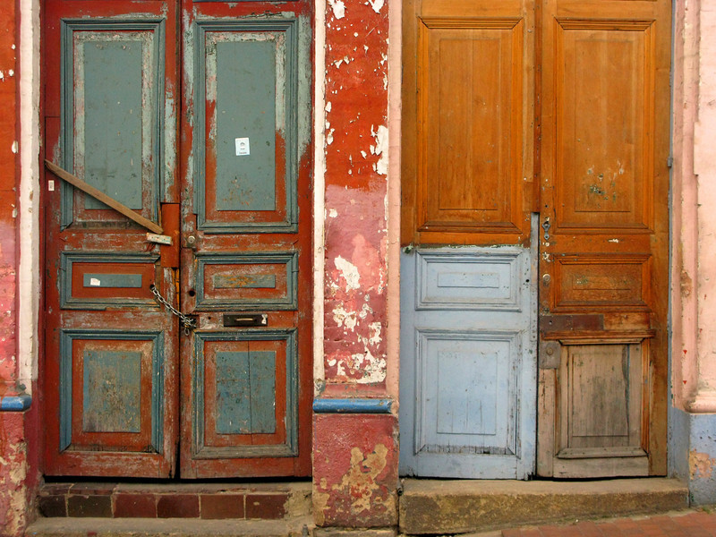 Like most historic districts, La Candelaria boasts some great doors.