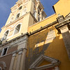 One of many churches in Cartagena