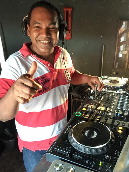 DJ at Cafe del Mar, Cartagena