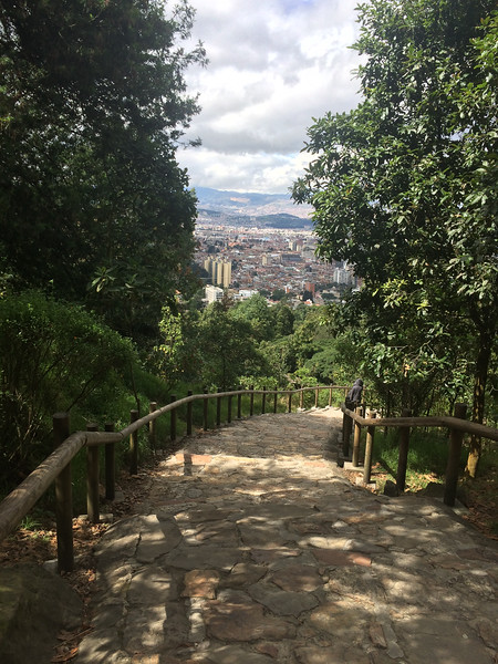 Path to Monserrate