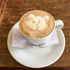 Coffee art at a Salento cafe