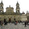 The city's main cathedral, on Plaza Bolivar