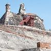 Castillo San Felipe de Barajas, the largest Spanish defensive structure in the world.