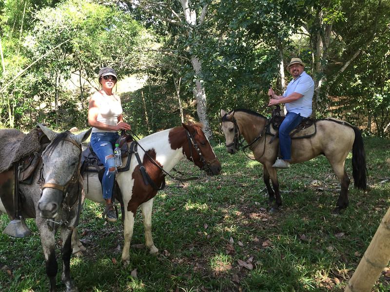 Horseback riding near Armenia