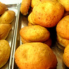 Much more palatable to me are Colombia's savory breads: pan de bono, made with cheese...