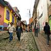 Best alleyway in La Candelaria: Callejón del Embudo.