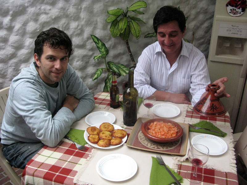 First meal in Bogotá, a few hours after we landed, courtesy of our hosts, Lucy y Martin