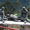 Stations of the cross at Monserrate, Bogotá