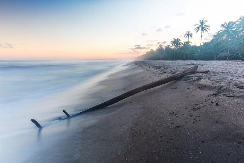 beach morning at Palomino /Colombia