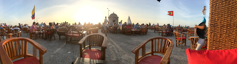 Cafe del Mar, Cartagena