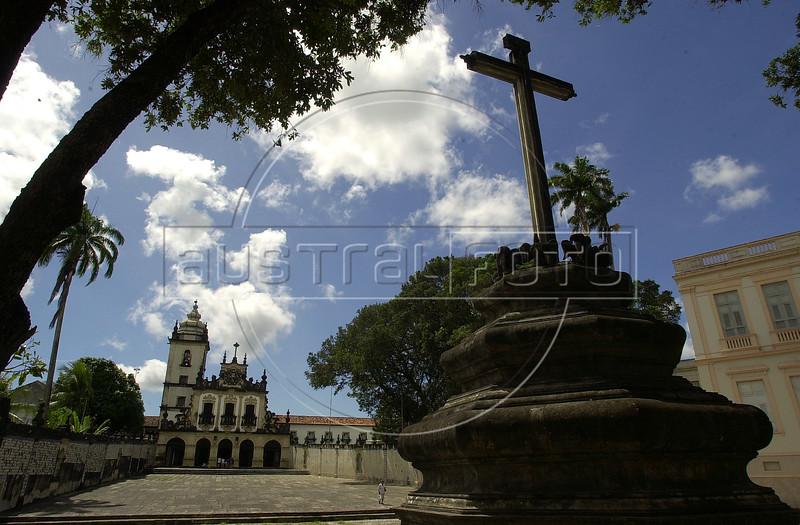 The Sao Francisco Church (1590) in Joao Pessoa, Paraiba state.(Australfoto/Douglas Engle)