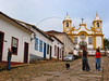 """A view the Santo Antonio church of Tiradentes, in the Brazilian state of Minas Gerais. The town which sits in a green valley, is named after the man known as """"Tiradentes"""" (tooth puller), Joaquim Jose da Silva Xavier, martyred heroe of the Minas revolution. (Australfoto/Douglas Engle)"""