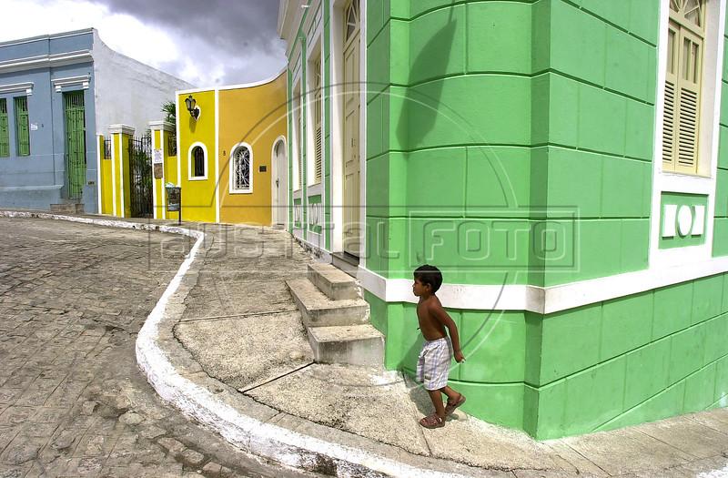 Historic buildings in Joao Pessoa, Paraiba state. (Australfoto/Douglas Engle)