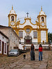 """A view the Santo Antonio church of Tiradentes, in the Brazilian state of Minas Gerais. The town which sits in a green valley, is named after the man known as """"Tiradentes"""" (tooth puller), Joaquim Jose da Silva Xavier, martyred heroe of the Minas revolution.(Australfoto/Douglas Engle)"""