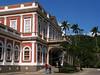 Tourists leave the Imperial Museum, once home of Brazilian Emperor Dom Pedro II, in the mountain resort city of Petropolis near Rio de Janeiro.(Australfoto/Douglas Engle)