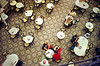 Patrons drink coffee at the historic Colombo restaurant in downtown Rio de Janeiro.(Australfoto/Douglas Engle)