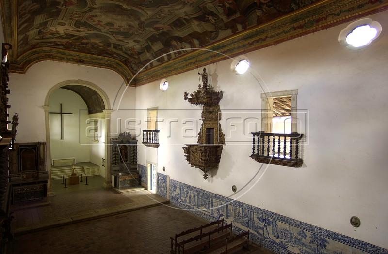 Interior of the Sao Francisco Church (1590) in Joao Pessoa, Paraiba state.(Australfoto/Douglas Engle)
