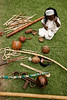 """A young girl in period dress sits among musical instruments during a presentation of African culture at the Fazenda Santo Antonio, near Rio das Flores, about 160km (100 miles) from Rio de Janeiro, August 12, 2005. The Fazenda is of many former coffee plantations of the region of western Rio de Janeiro state which has been turned into a bed and breakfast. Capitalizing on the beautiful landscapes and historical architecture, entrepreneurs have been buying up the decaying plantations, most of which flourished in the latter half of the 19th century, and turning them into a tourist attractions. The plantations, which no longer produce significant amounts of coffee, now form what is called the """"Coffee Circuit,"""" which promotes historical, social and culinary tours of the area. Coffee dominated Brazilian exports in the last half of the nineteenth century and as coffee exports rose steadily, so did the numbers of imported slaves to work the plantations, a fact which has left a cultural imprint on Brazilian society today. In 1822 about 30 percent, or 1 million, of Brazil's population were African-born or descended slaves. In 1888, Brazil was one of the last countries in the world to abolish slavery. Today, about 44 percent of the population can claim African ancestors.(Australfoto/Douglas Engle)"""