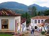 """A view of Tiradentes, in the Brazilian state of Minas Gerais. The town which sits in a green valley, is named after the man known as """"Tiradentes"""" (tooth puller), Joaquim Jose da Silva Xavier, martyred heroe of the Minas revolution.(Australfoto/Douglas Engle)"""